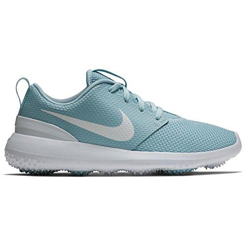 promo code 66388 acb46 Nike Roshe G Scarpe Da Golf Spikeless 2018 Donne Ocean Bliss  Bianche
