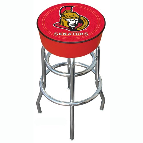 NHL Ottawa Senators Padded Swivel Bar Stool ()
