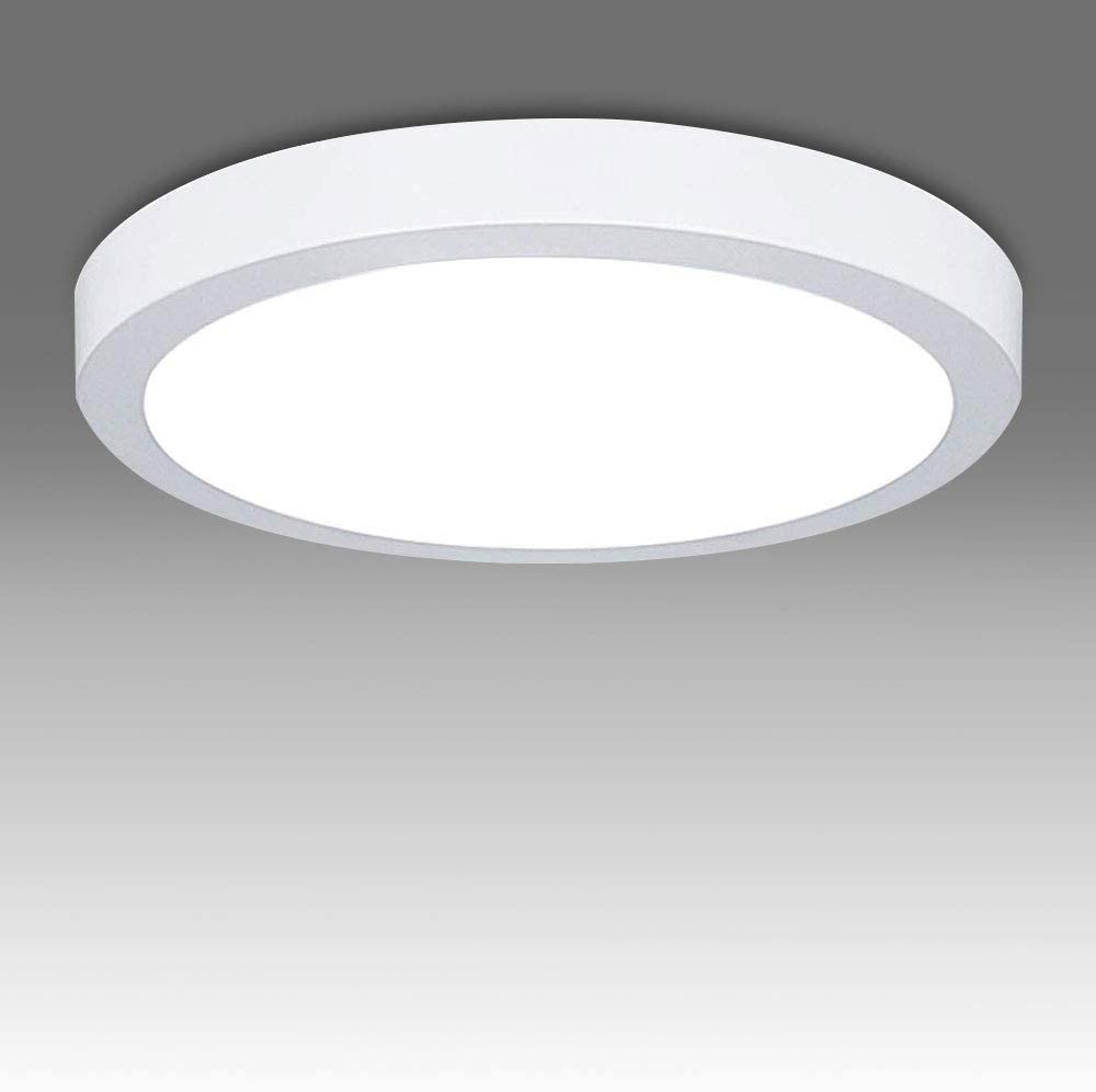 24W LED PIR Sensor Security Bathroom Wall Ceiling Mounted Water Resistant Light