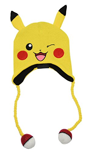 Price comparison product image Pokémon Pikachu Laplander Hat (One Size, Yellow)