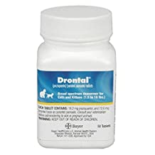 Drontal for Cats - 50 Tablets