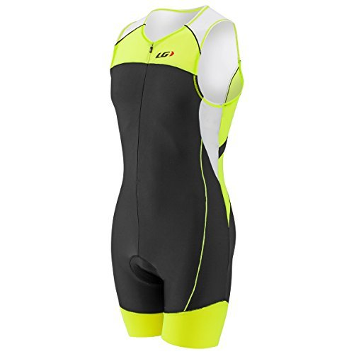 Louis Garneau Men's Comp Tri Suit - Bright Yellow (XX-Large) ()