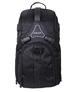 Amazon.com : Dolica DK-10 Small Travel Camera Backpack (Black ...