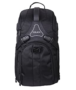 Dolica DK-10 Small Travel Camera Backpack (Black)