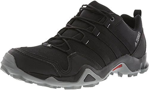 adidas Men's Terrex AX2R Shoes - Black/Black/Vista Grey, Black/Black/Vista Grey, 11.5 Mens Trail Running Shoes