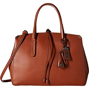 COACH Womens Glovetanned Leather Cooper Carryall