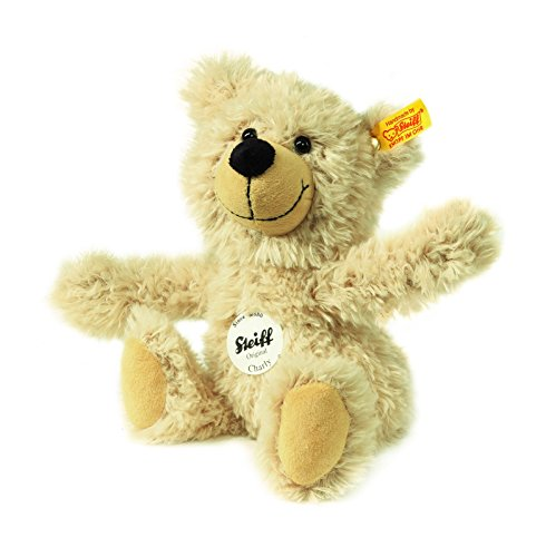 Steiff Charly Dangling Teddy Bear Plush, Beige, 23cm - Charly Dangling Teddy