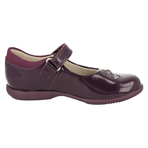 Clarks Filles Out-of-school Trixispice Inf Chaussures en cuir en rose