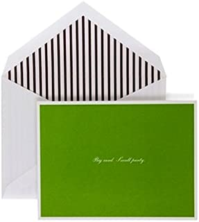 "product image for Crane & Co. Kate Spade Fold Over Invitations ""Big Party Small Card"" (TN9615)"