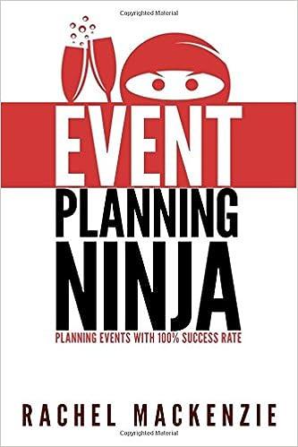 Event Planning Ninja: Rachel MacKenzie: 9781722103712 ...