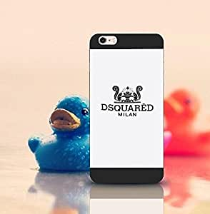 Jeaker - Dsquared2 - Iphone 6s Plus Plus Funda Case, Brand Logo Customized Scratch-Proof Anti Dust Ultra Thin Drop Protection Protective Funda Case Cover For Iphone 6 Plus 6S Plus (5.5 Inch)