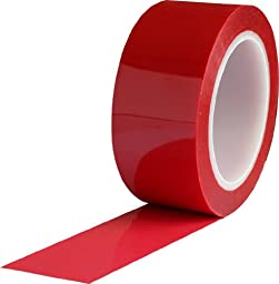 ProTapes Pro 980 Polyester Film Tape, 4200V Dielectric Strength, 72 yds Length x 2\