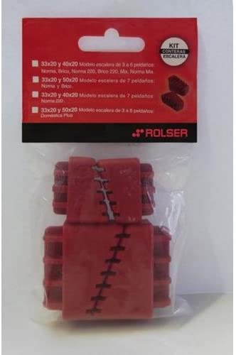 Rolser Kit CONTERAS Escalera Norma 30-20 40-20 NB 7: Amazon.es: Hogar