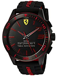 Ferrari Men's 830375 Analog-Digital Display Quartz Black Watch