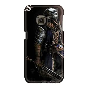 Scratch Resistant Hard Phone Covers For Samsung Galaxy S6 With Custom Trendy Dark Souls Elite Knight Armor Image Casesbest88