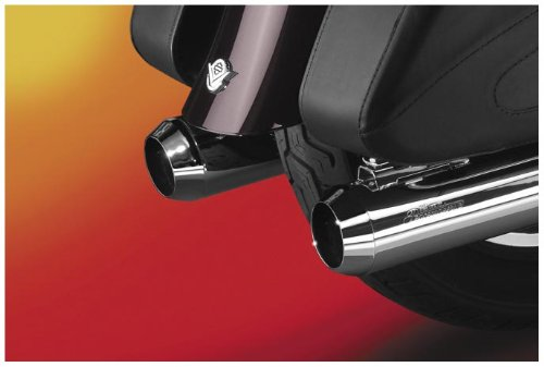 National Cycle Peacemaker Optional Snub Nose Exhaust Tips for 4 Inch 1995-2008