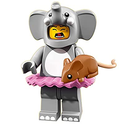 LEGO Series 18 Collectible Party Minifigure - Elephant Costume Girl (71021): Toys & Games