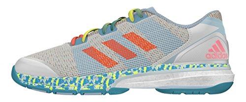 Adidas Conquisto II IN J AQ4327 Giallo Sneakers Bambino Sportive da Calcetto