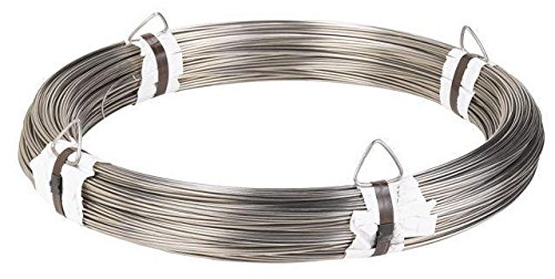 Stainless steel annealed wire - 316L - 0.047 inch / 1.2 mm - 335,5 feet / 110 meter - Annealed Wire by https://stainless-wire.us