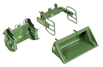 Wiking frontlader befestigung set a u grün amazon spielzeug