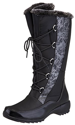 Sporto Women's Predator Faux-Fur Cold Weather Boots (7 B(M) US, - Boots Sporto Fur