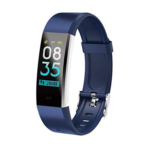 Kindsells Smart Bracelet Heart Rate Pedometer Blood Pressure Monitor Fitness Wristband Fitness Trackers