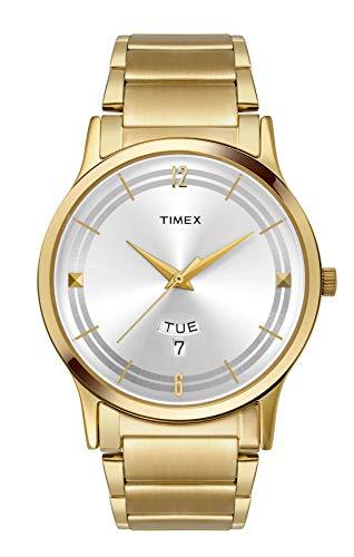 Timex Classics Analog Silver Dial Men #39;s Watch TI000R420