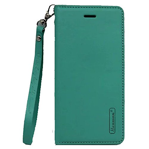 Price comparison product image iPhone 6S Plus case, Aroko Genuine Leather Wallet Case Cover with Flip Case Design [Stand Feature] [Wallet Function] for Apple iPhone 6S Plus/iPhone 6 Plus 5.5'' (6Plus/6sPlus, Green)