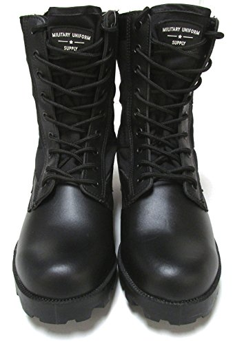 Military Uniform Supply Jungle Boots - BLACK