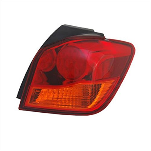 Partslink MI2805105 Multiple Manufacturers MI2805105N OE Replacement Tail Light Assembly MITSUBISHI OUTLANDER SPORT 2011-2012