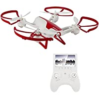 Hornet FPV Drone with 720p HD Camera – Force1 RC Quadcopter with Altitude Hold, Return Home, Headless Mode and One Touch Flips and Tricks - Includes Extra Batteries for Drone and Controller