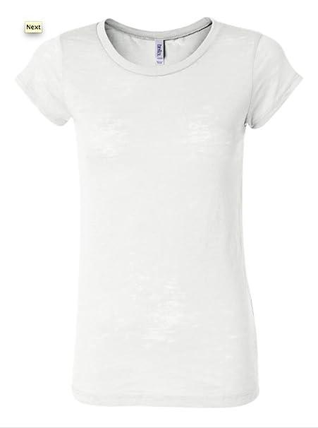 b57a8d2f41bb Bella-Ladies  Burnout T-Shirt