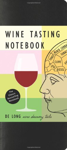 Wine Tasting Notebook by Steve De Long
