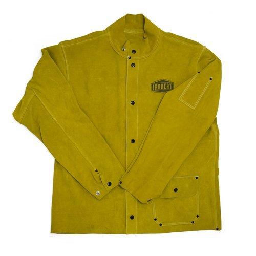 West Chester IRONCAT 7005 Heat Resistant Split Cowhide Leather Welding Jacket, ()
