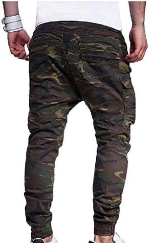 ズボンを実行しているメンズスタイリッシュな特大の弾性ひもトレーニング