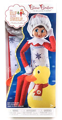 Elf on The Shelf Claus Couture Blizzard Bath Time Set ()