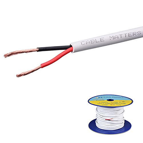 Cable Matters 14 AWG CL2 In Wall Rated Oxygen-Free Bare Copp