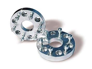 Pareja de separadores de rueda en aluminio 30 mm, 6x139,7, CB 108, Tuerca-12X125: Amazon.es: Coche y moto