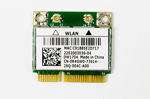 DW1704 Dell Vostro 3360 3560 Inspiron 5520 7720 WiFi BlueTooth R4GW0 (Dell Vostro Wireless Card)