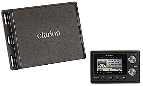 Clarion Corporation of America CMS4 Marine Black Box Digital Media Player with Watertight Commander (Clarion Android)
