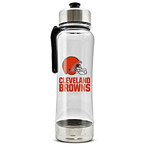 NFL Cleveland Browns Clip-On Water Bottle