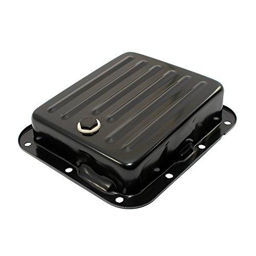 - Assault Racing Products A9531-1PBK Pan Fill Ford C4 Black Steel Automatic Transmission Pan - Stock Capacity