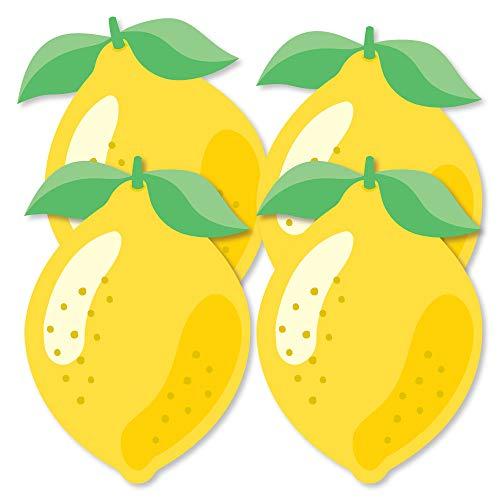 So Fresh - Lemon - Decorations DIY Citrus Lemonade Party Essentials - Set of 20 -