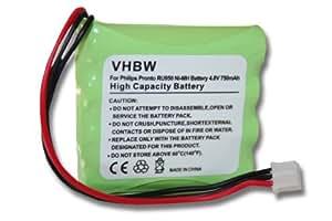 BATERÍA NI-MH 750mAh compatible con MARANTZ RC5200, RC5400, RC9200, RC9500, TS5200, TSU3000, TSU3500, TSU6000, TSU7000, TSU7500