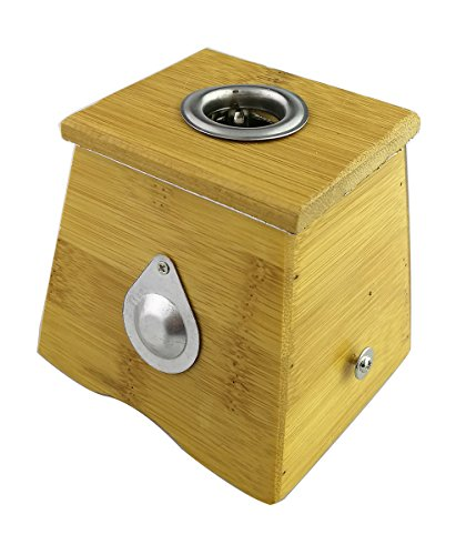 Winterworm® Bamboo One Hole Healing Box for Moxa Moxibustio