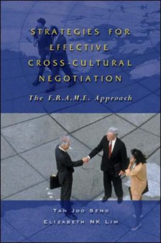 Strategies for Effective Cross-Cultural Negotiation: The F.R.A.M.E. Approach
