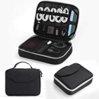 Electronics Bag, Jelly Comb Electronic Accessories Travel...