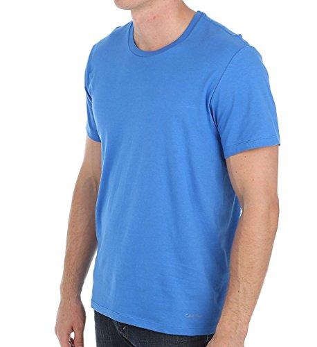 Calvin Klein Men's Undershirts Cotton Classics Crew Neck T-Shirts