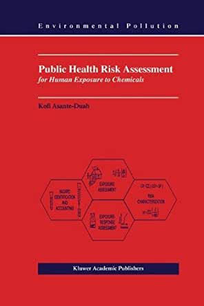 Public Health Risk Assessment for Human Exposure to ...