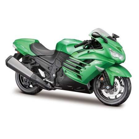 Amazon.com: Maisto M39197 1:12 Kawasaki Ninja ZX-14R: Toys ...